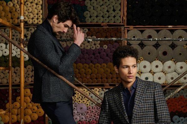 Blazers for men in jacquard pattern
